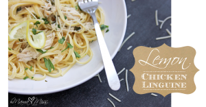 eats: Lemon Chicken Linguine