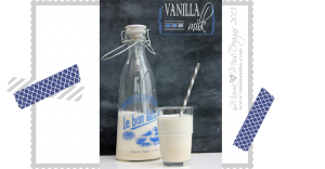 fun eats: Vanilla Milk