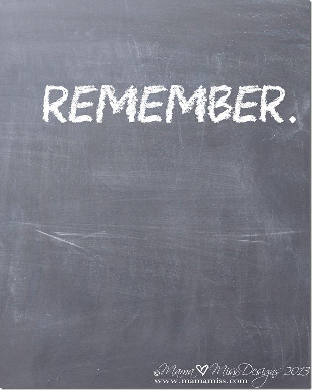 Remember Quote #quote #memorialday @mamamissblog