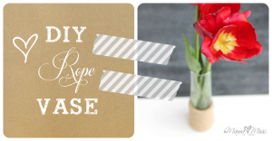 diy: Inspired By – Nate Berkus Glass Rope Vase