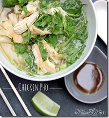 Chicken Pho #chicken #pho #soup