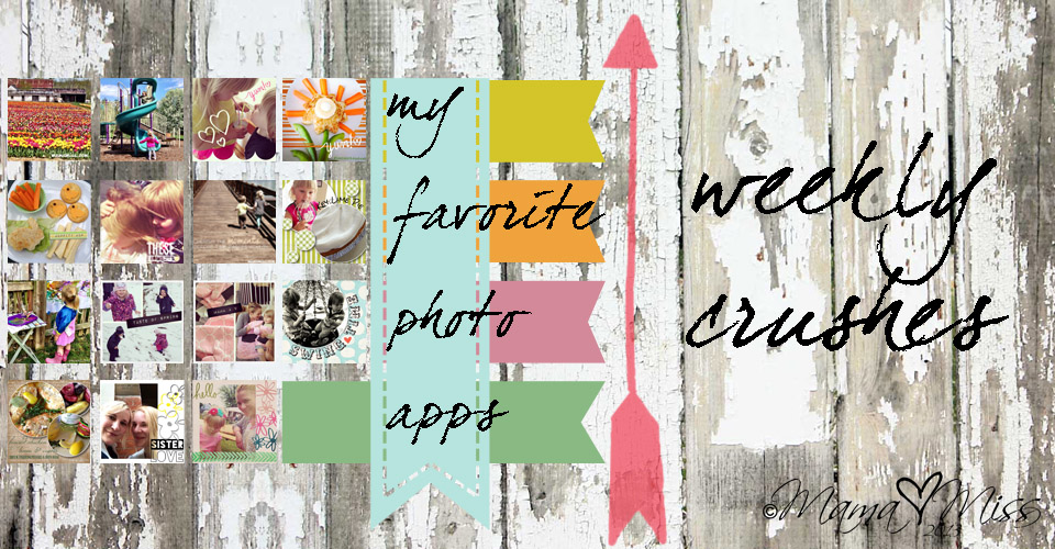 Fave Friday: Crushes of the week #photoapps #design