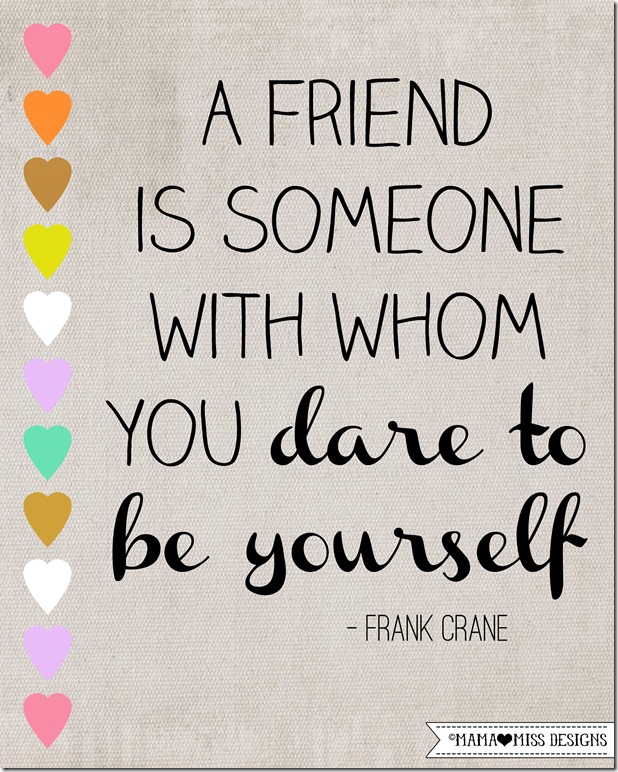 Friendship Graphic Quote #greatquotes #friendship @mamamissblog