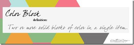 10 Fabulous Finds of Color Block DIY   @mamamissblog #colorblock #diy #crushingon