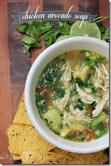 Chicken Avocado Soup #chicken #soup #avocado