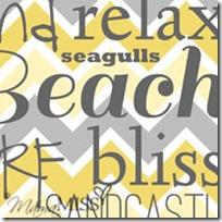 Beach Subway Art #subwayart #beach