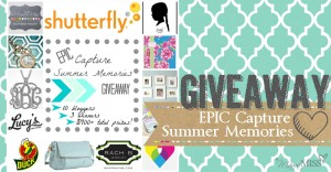 giveaway: EPIC Capture Summer Memories