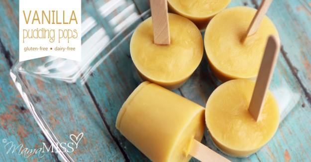 Vanilla Pudding Pops - Mama Miss