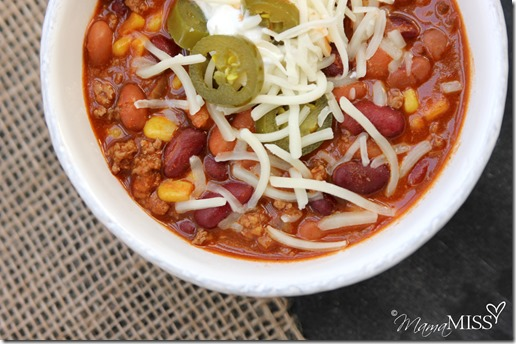 My Favorite Chili | Mama Miss #chili #fall #quickmeal