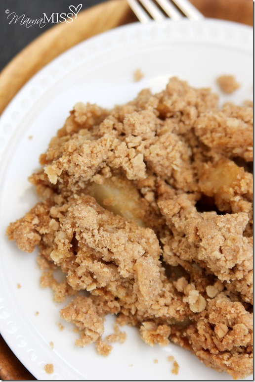 The Best Apple Crisp | Mama Miss #apple #cake #fall #crumb