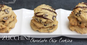 sweets: Zucchini Chocolate Chip Cookies