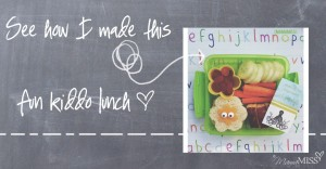 Easy & Simple Bento | Mama Miss #bentolunch #kidfood #funfood