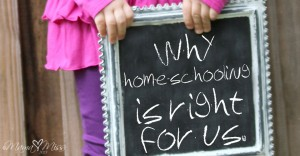 thoughts: Why Home-Schooling Is Right For Us.