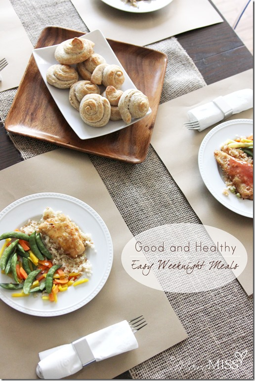 Good and Healthy: Easy Weeknight Meals | Mama Miss #easymeals #healthy #HonestlyGood #PMedia #ad