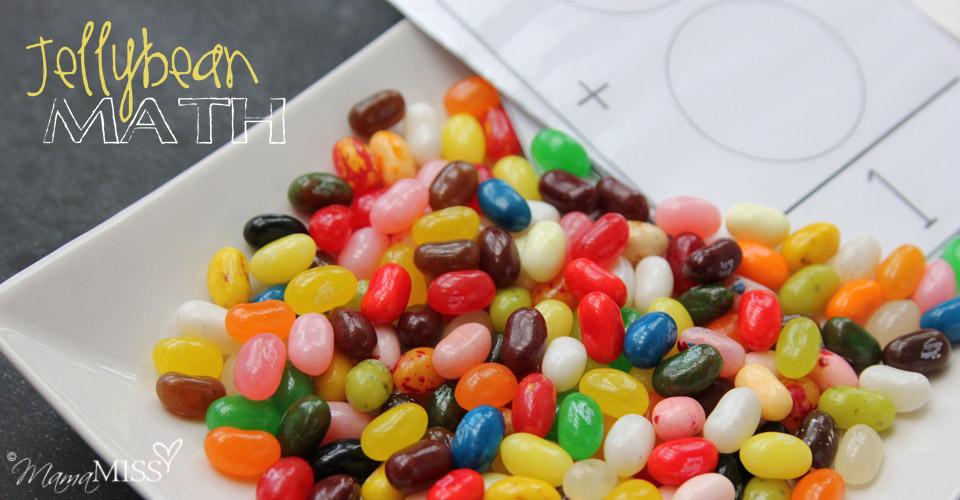 Jellybean Math | Mama Miss #learningfun #homeschool #preschoolmath #candy #halloween