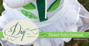 kiddo diy: Flower Fairy Costume