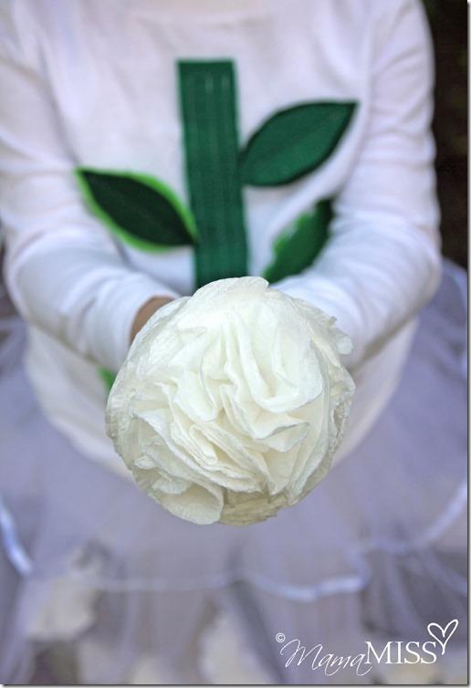 Flower Fairy Costume   Mama Miss #halloween #diy #CottonelleTarget #PMedia #ad