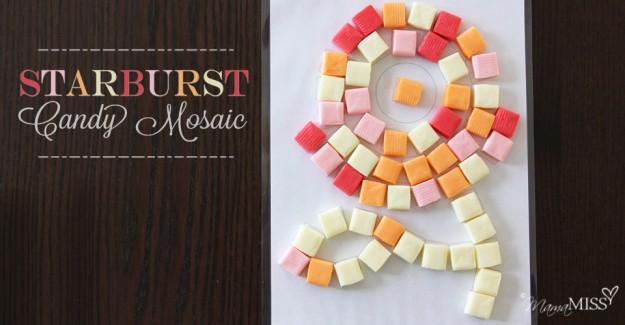 Starburst Candy Mosaic