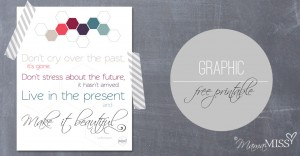 graphic print – Live In The Present