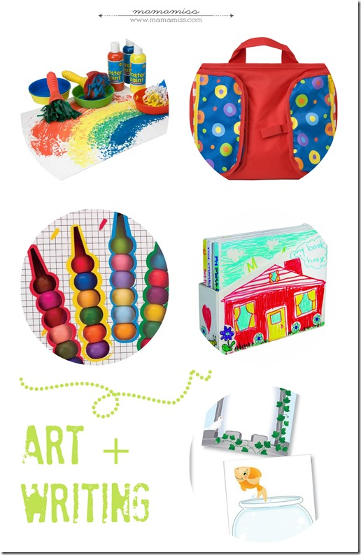 Creativity Inducing Gifts For Preschoolers | @mamamissblog #preschoolergifts #christmas #holidaygiftguide #50giftguides