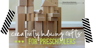 Creativity Inducing Gifts For Preschoolers | @mamamissblog #preschoolergifts #christmas #holidaygiftguide