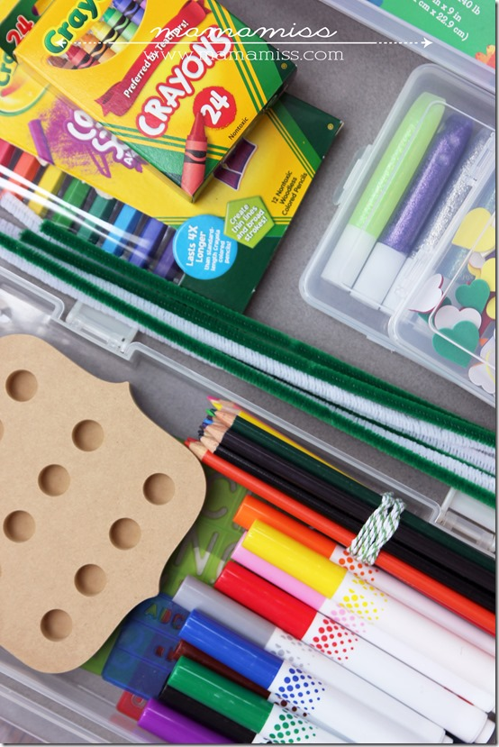 DIY little artists gift box | @mamamissblog #DIYgift #kidart #giftidea