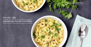 eats: Parmesan Broth Tortellini