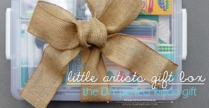 little picasso: DIY little artists gift box