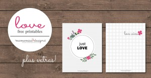 design: Just Love Print and Love Wins Print