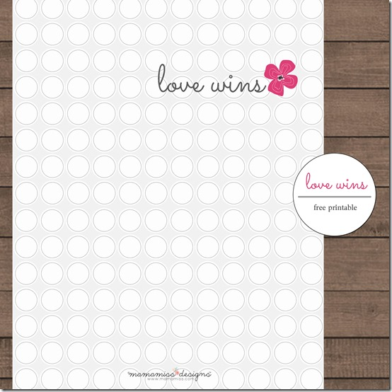 graphic prints for frame & iPhone: Just Love & Love Wins | @mamamissblog #valentinesday #freeprintables #iPhonewallpaperfree #justlove #lovewins