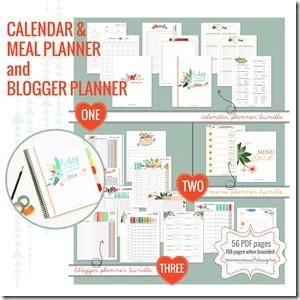 2014 Blogging Planner, Calendar, & Menu Planner | @mamamissblog