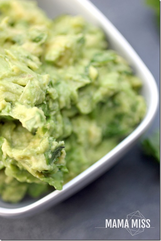 The Best Guacamole | @mamamissblog #guac #avocado #sidedish