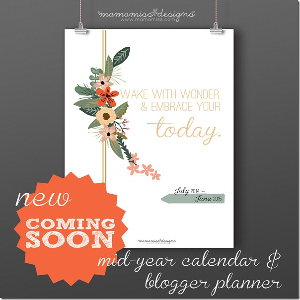 Mid Year Calendar : Mid year calendar and ger planner