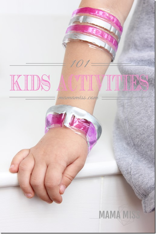 101 Kids Activities | @mamamissblog #kidsactivitiesblog #kidfun #kidcrafts #kiddiy