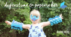 party: Rio 2 DIY Costume and Popcorn Bar