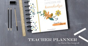 all new: Teacher Planner!