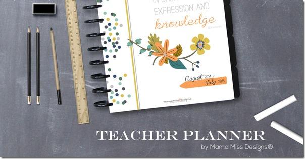 Teacher Planner | @mamamissblog