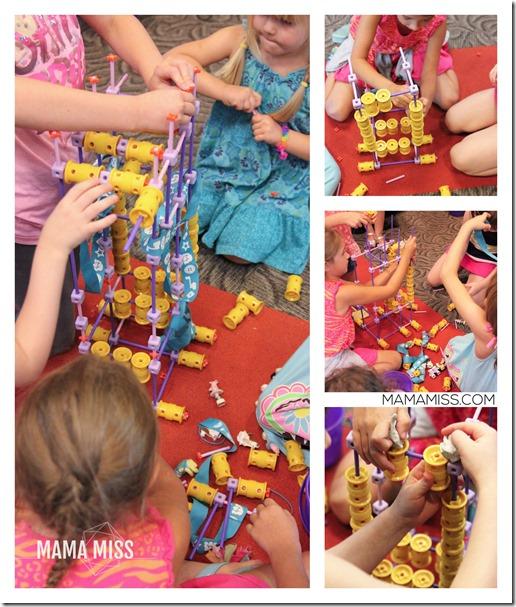 GoldieBlox Bash!  My pink aisle disruption. | @mamamissblog #STEM #girlengineers #LookatGoldie #GoldieBlox
