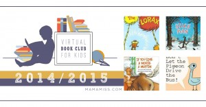 Virtual Book Club for Kids 2014-2015