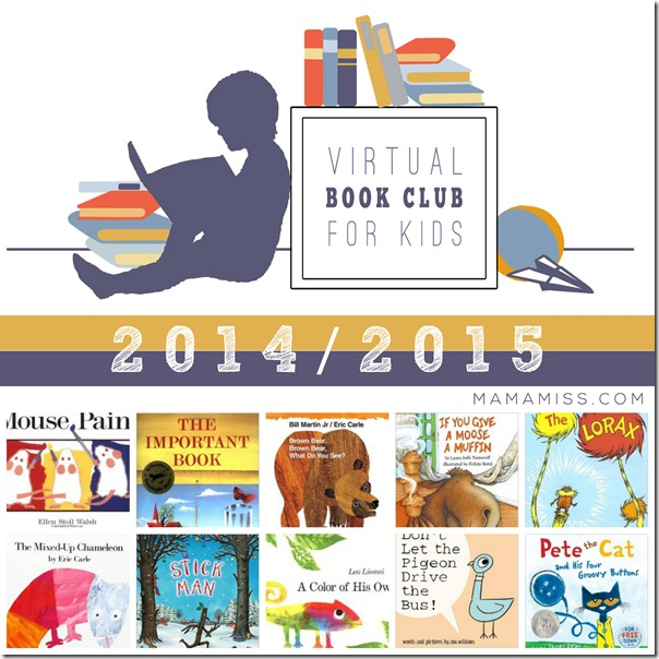 Virtual Book Club for Kids | @mamamissblog #VBC #literacyforlittles #bookandcraft #booksforkids