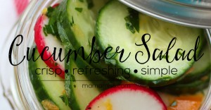 eats: Cucumber Salad