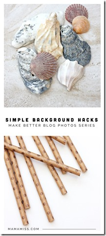 Simple Background Hacks | @mamamissblog #rockinartmoms #phototips #diy #betterblog