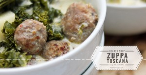 Zuppa Toscana Soup - sausage, kale, russet potatoes - a hearty veggie filled soup perfect for a cool day | @mamamissblog #zuppatoscana #soup