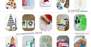Spruce up the holiday this year with a DIY Christmas - 20 Handmade Ideas | @mamamissblog #handmadeholiday #diychristmas