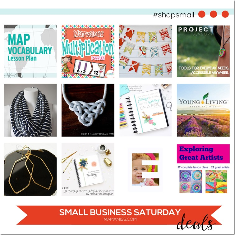 SMALL BUSINESS SATURDAY! | @mamamissblog #shopsmall
