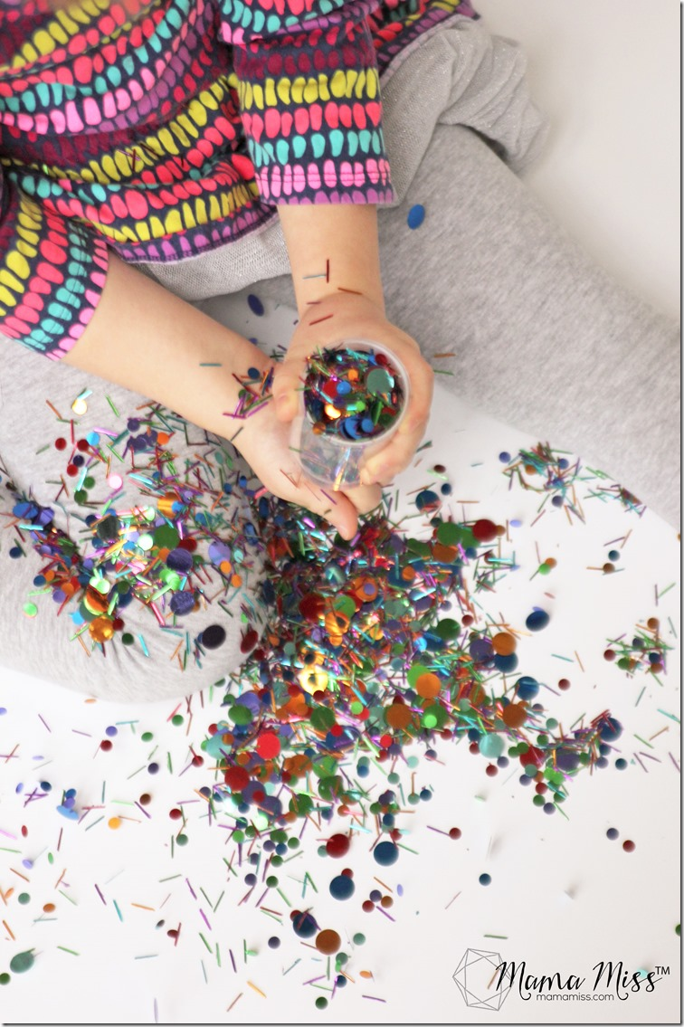 Confetti Party Popper - a super easy & super fun DIY! | @mamamissblog