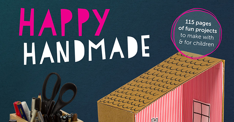 Happy Handmade is 115 pages of fun projects to make with and for children. | @mamamissblog