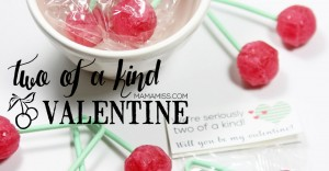"""Two Of A Kind"" Valentine Printable - print & go for a quick kiddo valentine 