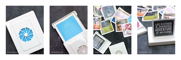 Simplest DIY Photo Display EVER - get your pics off your phone & printed!! | @mamamissblog