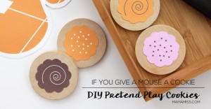 DIY Pretend Play Cookies